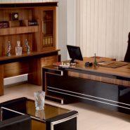 میز مدیریت لیندا مشکی