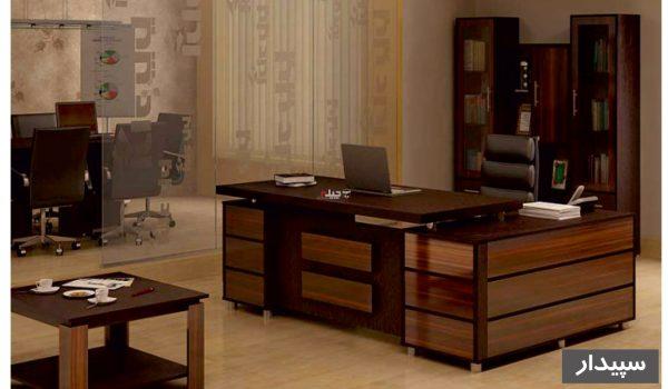 میز مدیریت سپیدار
